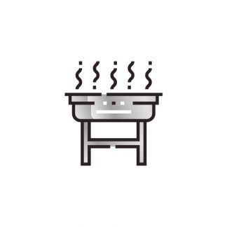 Stainless Steel Charcoal Braais